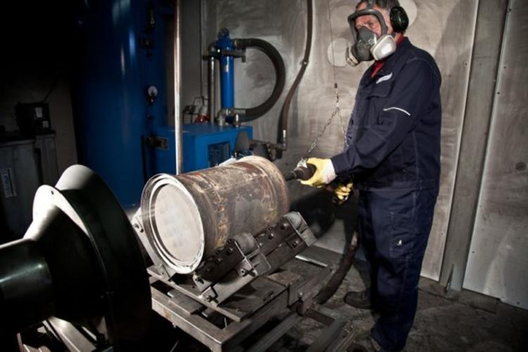 Termický proces čištění DPF filtru - dle konceptu Cleantaxx